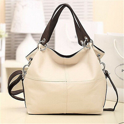 Women Lady Fashion Leather Satchel Handbag Shoulder Tote Messenger Crossbody Bag