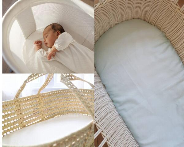 Couffin Terry Imperméable Baby Nursery Matelas Protecteur Couverture 75 X 35 Cm