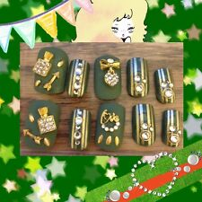 "Japanese 3d Nails DECO DEN KAT NAILS ""105 Sparkle Perfume and Love Charms"""