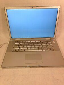 "Apple MacBook Pro 15"" 2007 C2D 2.4GHz 512MB NO HD - FOR PARTS/REPAIR - ZZ"