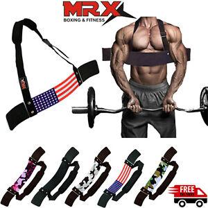 DEFY Heavy Duty Arm Isolator Blaster Body Building Bomber Bicep Curl Triceps-New