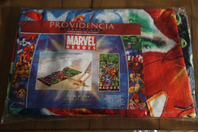 Marvel Avengers Civil War Iron Man Captain America Beach Bath Towel Velour