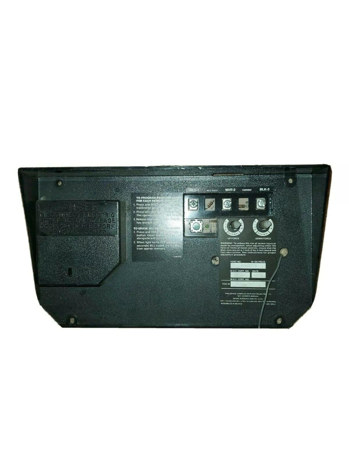 Craftsman Chamberlain Logic Board 41a4207 5 For Sale Online