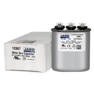 30 5 uf MFD 370 440 VAC Oval Dual Capacitor 12887 Replaces C3305L C4305L