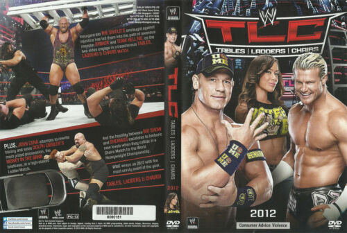 1 of 1 - WWE - Tables, Ladders & Chairs 2012 (DVD, 2013) New  Region 4