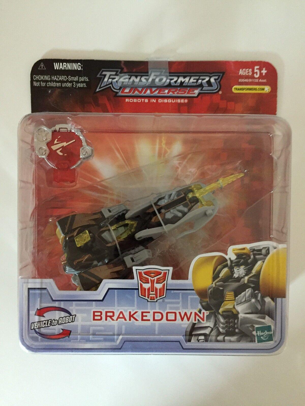 BRAKEDOWN Hasbro action figure TRANSFORMERS UNIVERSE Hasbro BRAKEDOWN 2007 83f9ae