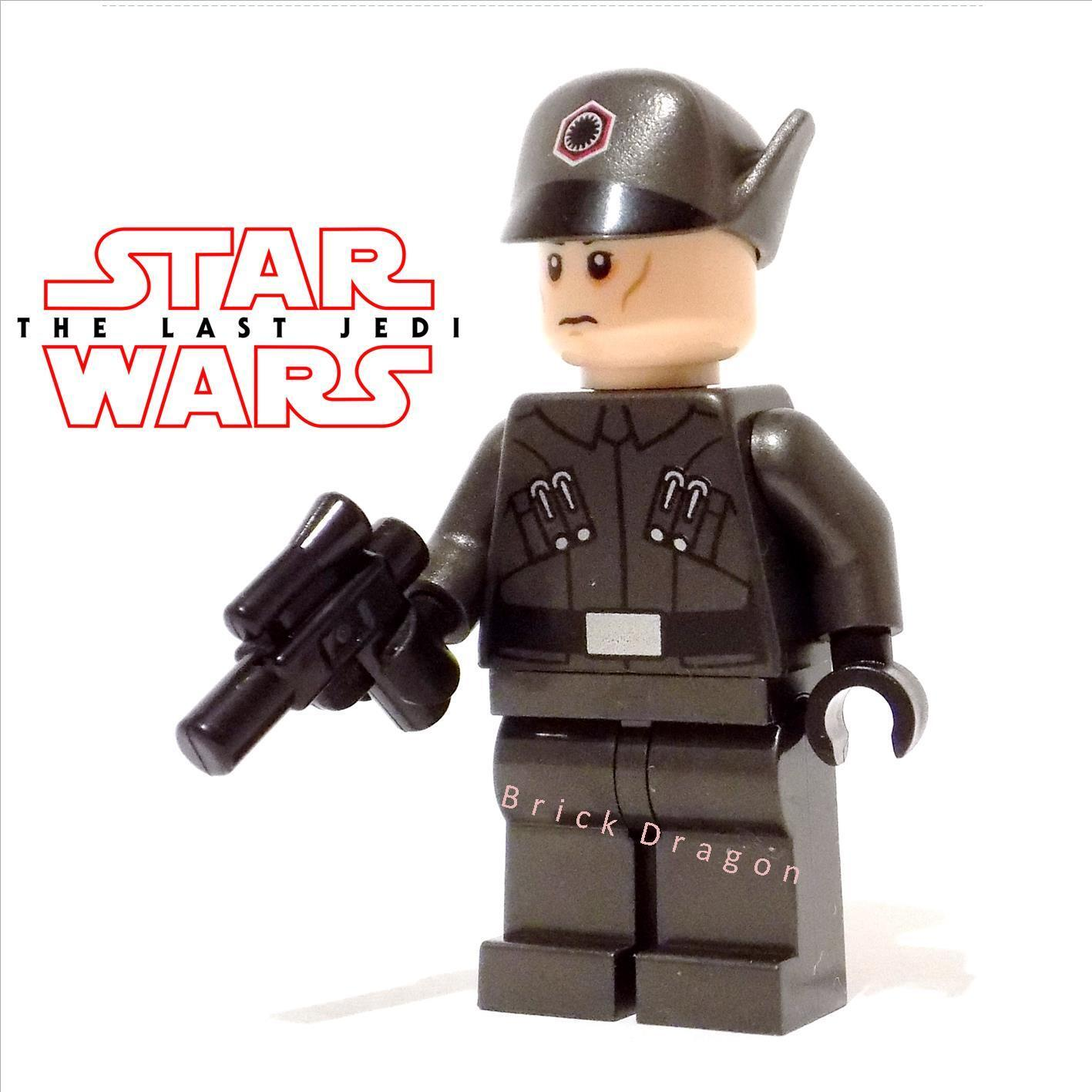 Lego Star Wars - The Last Jedi - First Order Officer  NEW from set 75190