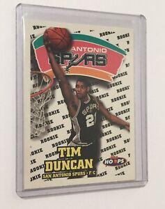 1997-98-NBA-Hoops-Tim-Duncan-RC-Basketball-Rookie-Card-San-Antonio-Spurs-HOF