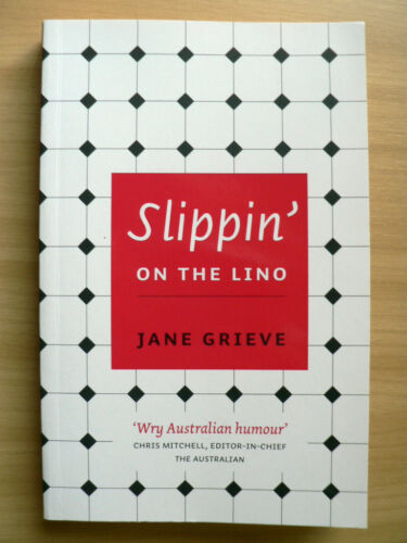 1 of 1 - Slippin' on the Lino by Jane Grieve (Paperback, 2009) SIGNED BY AUTHOR