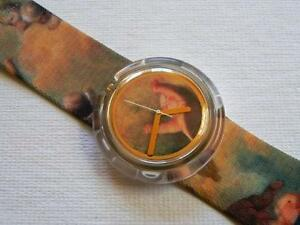 1992-Putti-PWK168PACK-Pop-Swatch-Watch-by-Vivienne-Westwood-Special-Cigar-box