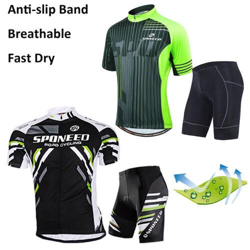 Bike Maglia da Ciclismo e Pantaloni Corti per MTB Road