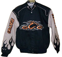 Mens Orange County Choppers Black And Khaki Denim Jacket - Med Medium