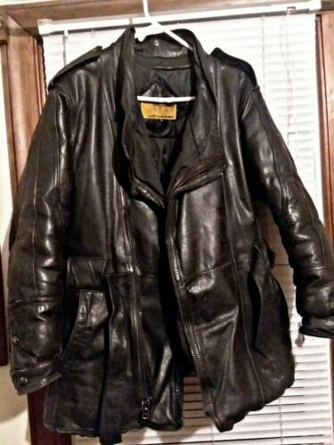 Leather Jacket Down Fill~ Double Goose