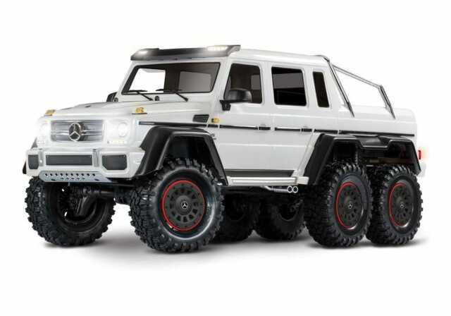 Traxxas 88096-4 TRX-6 1/10 6x6 Trail Crawler Mercedes-Benz G 63 AMG White New!!