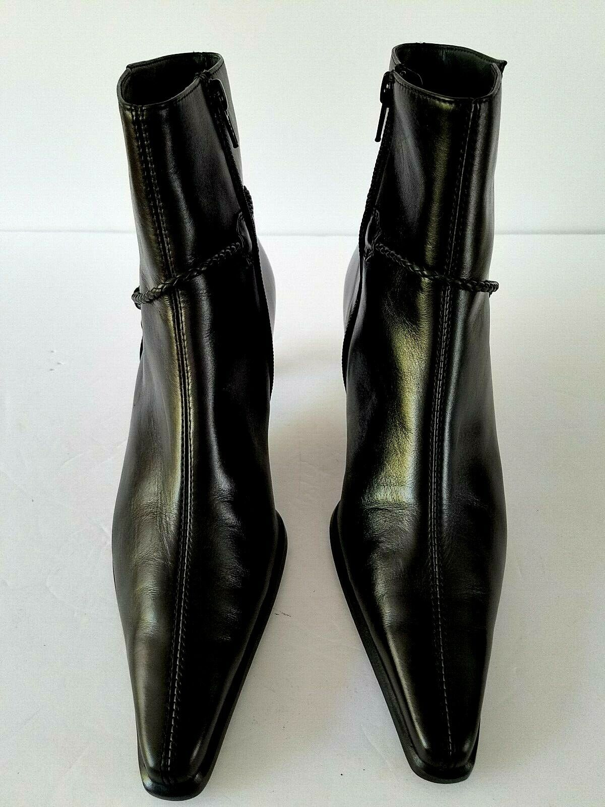mujer botas by Paul verde Made in Austria Talla 6.5