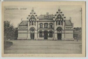 1910-era-Levanger-Norway-Jernbanestation