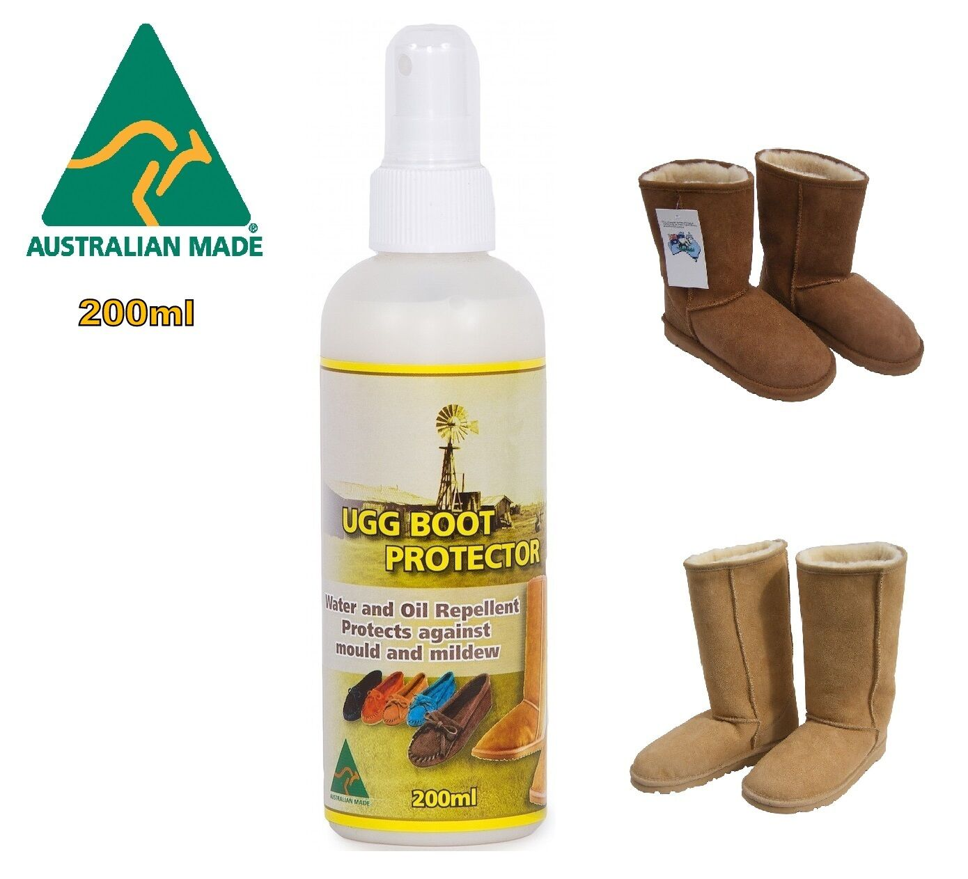 133e7cf15b0 Ugg Boot Sheepskin Protector Water & Stain Waterproof Spray Leather Suede  Fabric