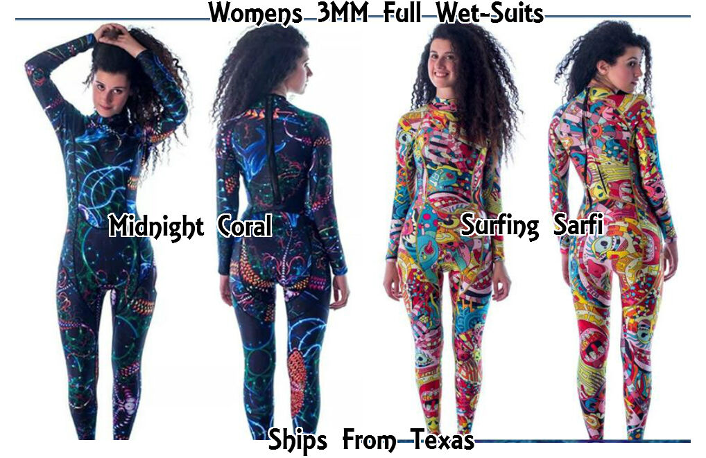 SheerWater  Full Body  3MM Wetsuit Women and Girls (see size chart)