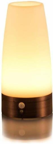 Retro LED Table Lamp Night Light Wireless PIR Motion Sensor Portable Moving Lamp