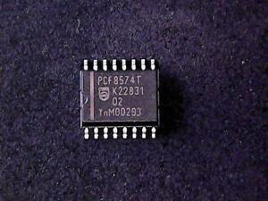 Details about PCF8574T - Philips 8-bit I/O expander for I2C-bus with  interrupt (SO-16)