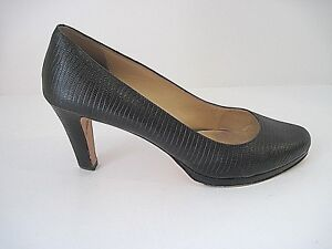 563699133b3d Image is loading Cole-Haan-Black-Leather-Heels-Pumps-Size-9B