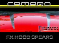 2010 - 2013 Chevrolet Camaro Factory Style Hood Spear Stripes 3m Quality