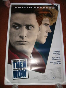 THAT-WAS-THEN-THIS-IS-NOW-original-MOVIE-POSTER-gt-ROLLED-1985-gt-1980-039-s