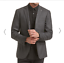 Saba-Mens-Stephen-Item-Jacket-Charcoal-Size-36-BNWT-RRP-549-00 thumbnail 1