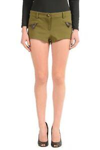 Just-Cavalli-Green-Women-039-s-Casual-Shorts-US-s-IT-40