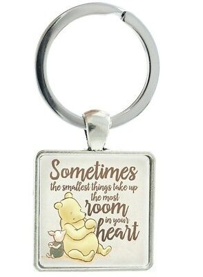 Disney Winnie the pooh keyring bag Charm bag charm birthday Baby shower gift 606