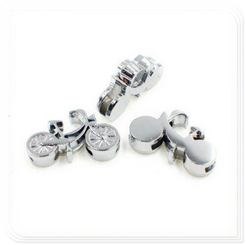 Hot 5pc 8mm slider Dog paw Cute Animal slide charms fit for 8mm belt//pet collar