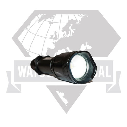 Watson T1000 USB Rechargable Tactical LED Flashlight Super Bright 800LM Adj Zoom