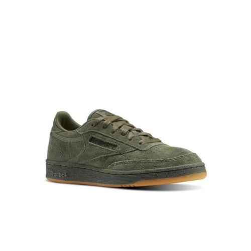 Reebok Club C 85 Tg Grade School Kids Shoes BS5958 HUNTER GREEN//POPLAR GREEN