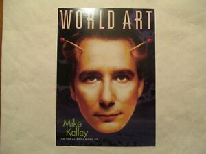 Mike-Kelley-World-Art-Advertising-Continental-Postcard