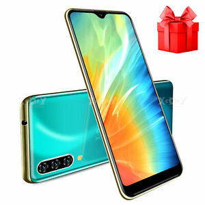 6.3 In Unlocked Android 9.0 Cell Phone Smartphone Dual SIM Quad Core Phablet New