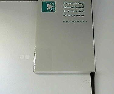 Experiencing International Business and Management-ExLibrary