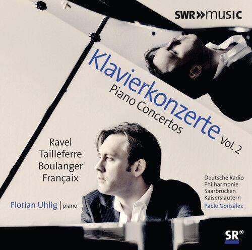 Boulanger / Francais - Piano Concertos, Vol. 2 [New CD]
