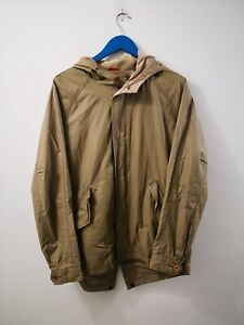 DOCKERS TRENCH GIACCA TECNICA IN COTONE UOMO TG.L MAN JACKET CASUAL VINTAGE A131
