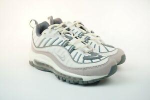 Nike Air Max 98 Violet Ash Shoes Pink White Grey AH6799-111 ...