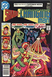 Shade-The-Changing-Man-2-Very-Fine-Steve-Ditko-Art-DC-Comics-1977-SA