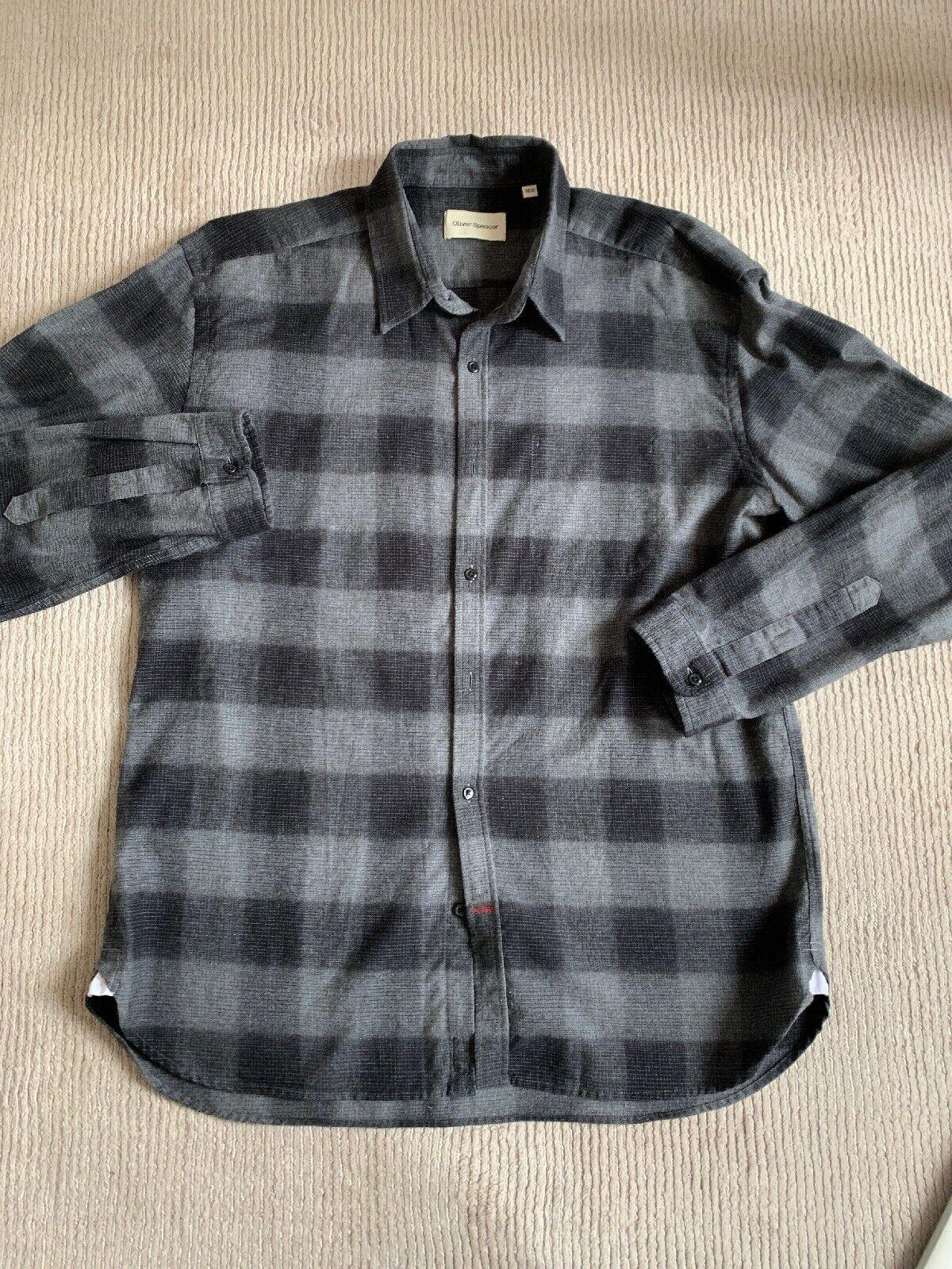 Oliver Spencer Mens Shirt 16.5
