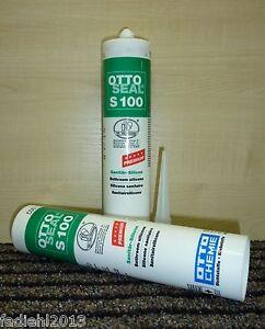 Favorit OTTOSEAL S 100 Premium Sanitär Silikon 300 ml Kartusche Farbe JY16