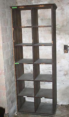 Mobiliar & Interieur Unter Der Voraussetzung Bauhaus Akten Ablage Regal Fächer Holz Loft Industrie Design Sammlerschrank Design & Stil