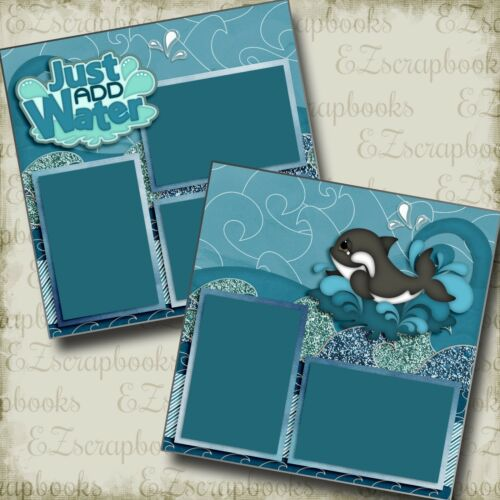 EZ Layout 2996 Just Add Water 2 Premade Scrapbook Pages