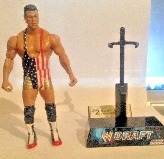 Kurt Angle WWE Limited Edition 1 of 25,000 Draft Wrestling figure, TNA,ROH
