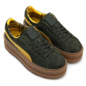 Details about PUMA CLEATED CREEPER SUEDE WOMEN SHOES FENTY BY RIHANNA 366268 01