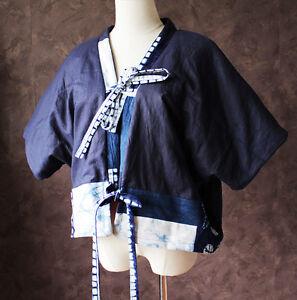 Kort Quilt Jakke Mode Boro Håndlavet Oriental Design Kimono Etnisk Polstret R6RBtqwp4