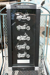 Harley-Davidson-Shadow-Box-2007-Motorcycle-Decor-Biker-Bikes-of-the-80-039-s
