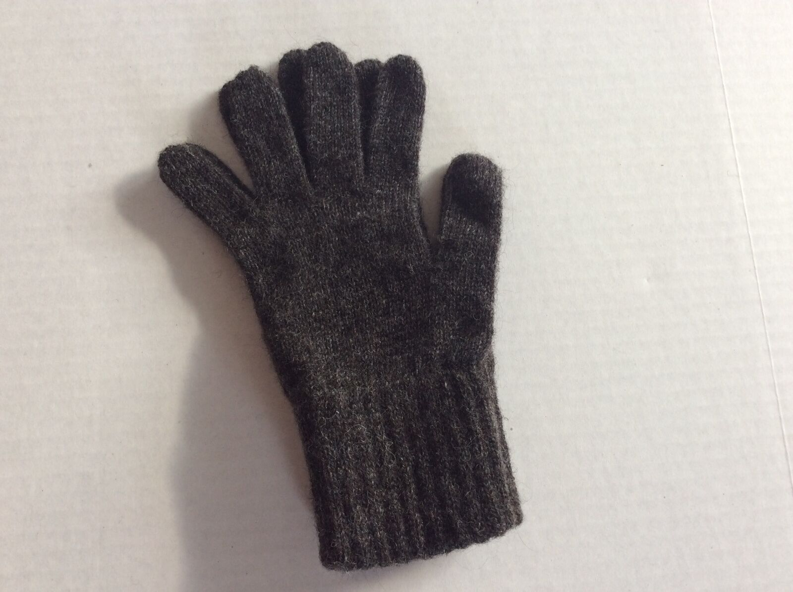 NEAFP Alpaca All Terrain Gloves, SIZE M -Gray-Made USA-NEW without Tag