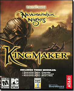 Neverwinter-Nights-Kingmaker-Three-premium-expansions-Brand-New-in-Box-for-PC
